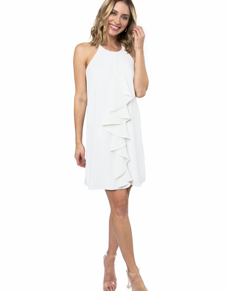 Chase Dress w/ruffle front