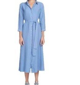 Cayman Midi Button Front Dress