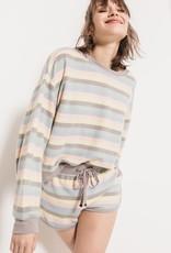 Rainbow Stripe Pullover