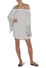 Beach Lunch Lounge Perla-off-the-shoulder cover-up