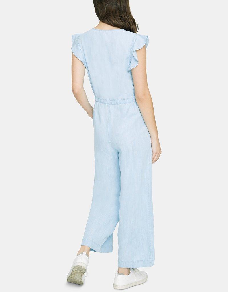 Mica Ruffle Sleeve Jumpsuit
