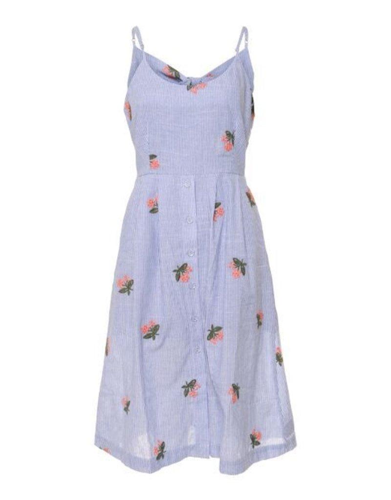 Sleeveless A-Line Dress
