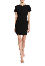 Scalloped Hem Manhattan Dress