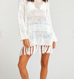 Show me your Mumu Paula Fringe Crochet Pullover