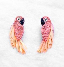 Parrot Beaded Earring