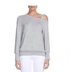 Provence One Shoulder Sweatshirt