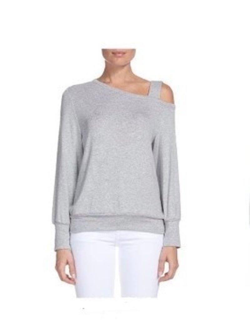 Provence One Shoulder Sweatshirt