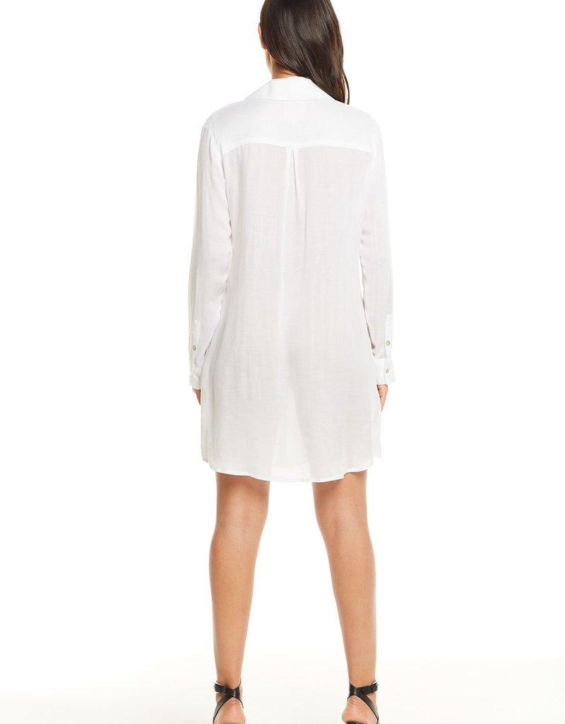 Heirloom Gauze L/S Button Down Dress