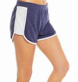 Blocked Jersey Track Shorts