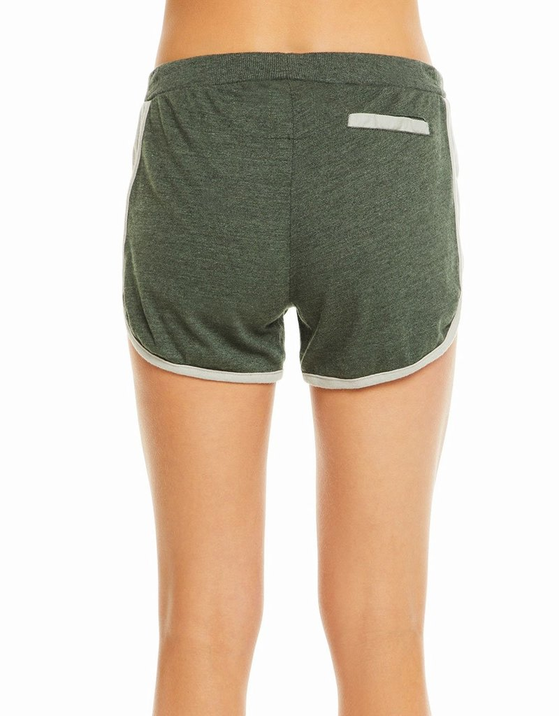 Blocked Jersey Track Shorts