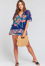 Show me your Mumu Cait Bouquet Tassel Tunic