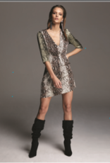 Santiago Snakeskin Dress