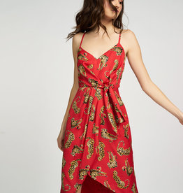 Hutch Kellen Faux Wrap Dress