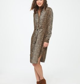 Beach Lunch Lounge Tameer-Leopard Print Dress