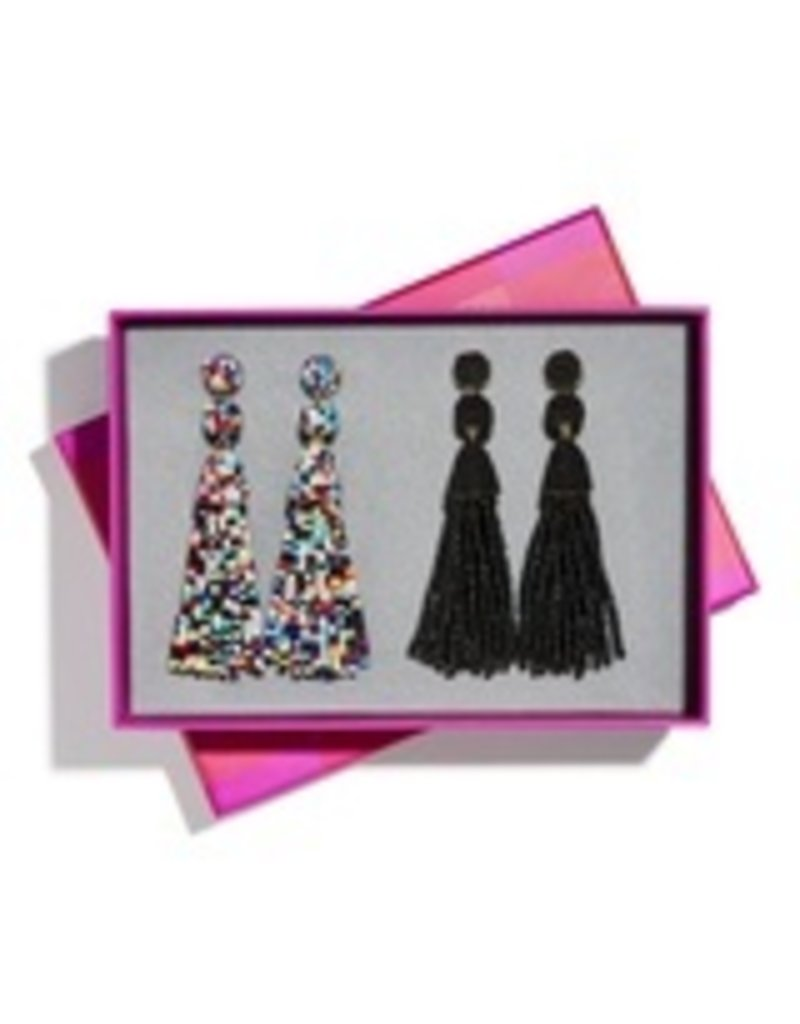 Granita Tassel Earring Set