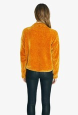 Chenille Mock Neck Sweater