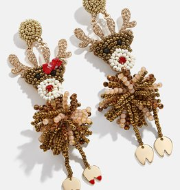 Rudolph Couple Drop Earrings