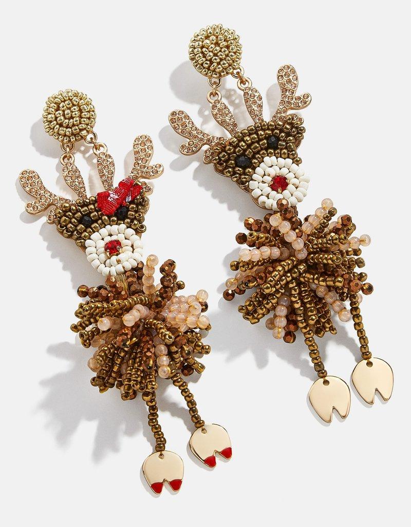 Rudolph Couple Drop Earrings