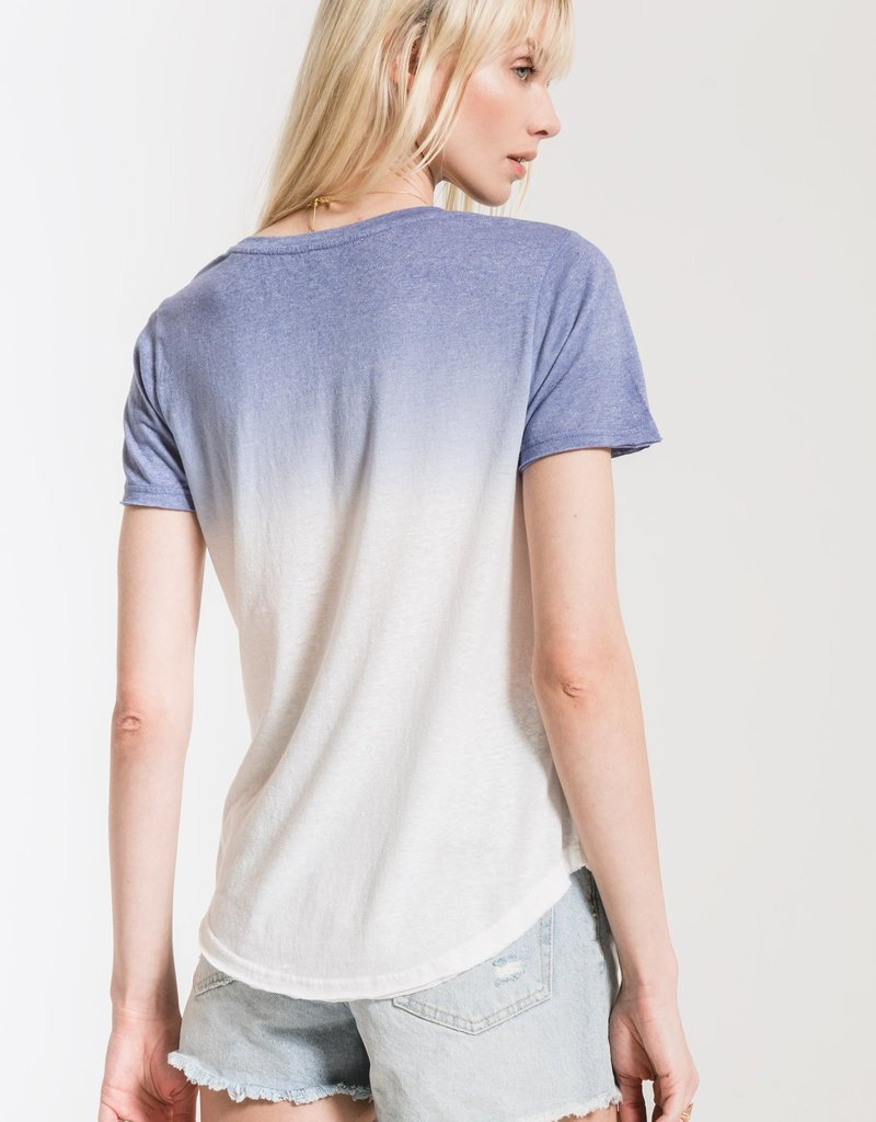 Ombre Dip Dye Crew Neck Tee**additional colors**