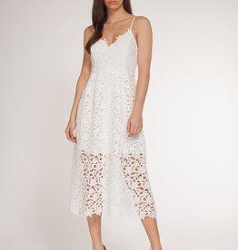 Thin Strap Lace Dress