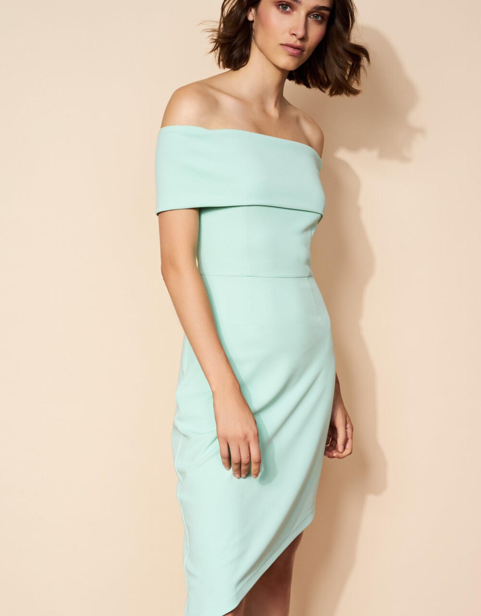 Hutch Gloria Off Shoulder Knit Dress