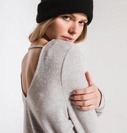Soft Spun Strap Back Pullover