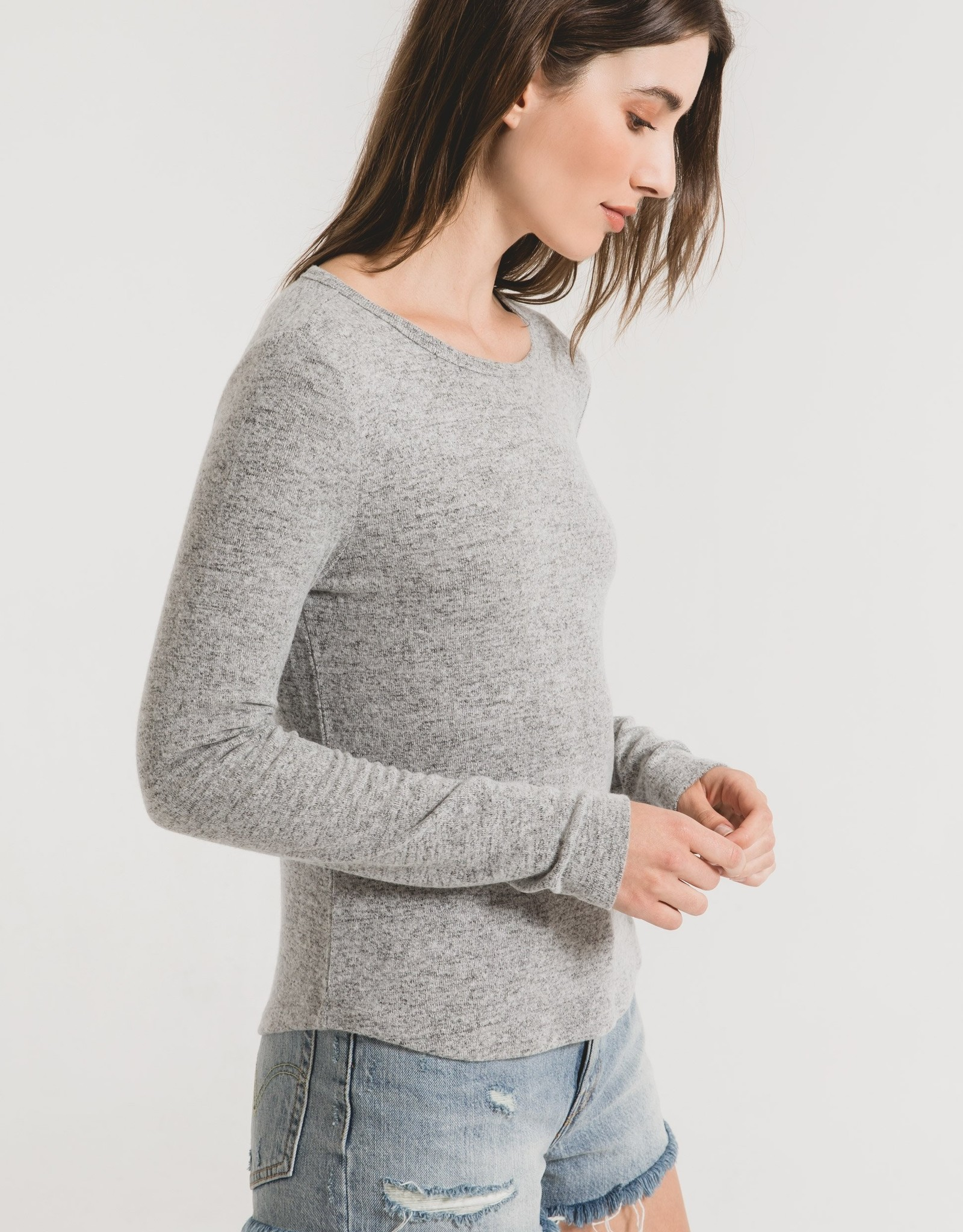 Long Sleeve Fitted Top