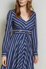 Hutch Lizzy Grommet Tie Waist Dress
