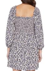 Marina Smocked Mini Dress