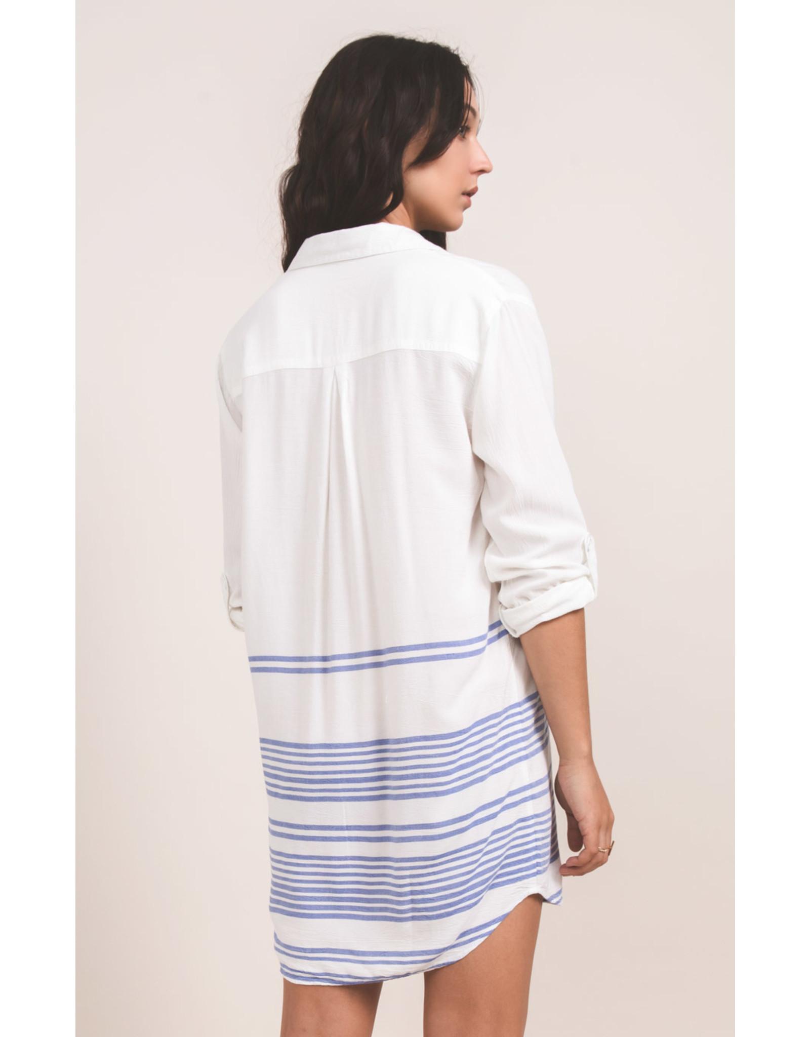 Others Follow Tuscany Stripe Tunic