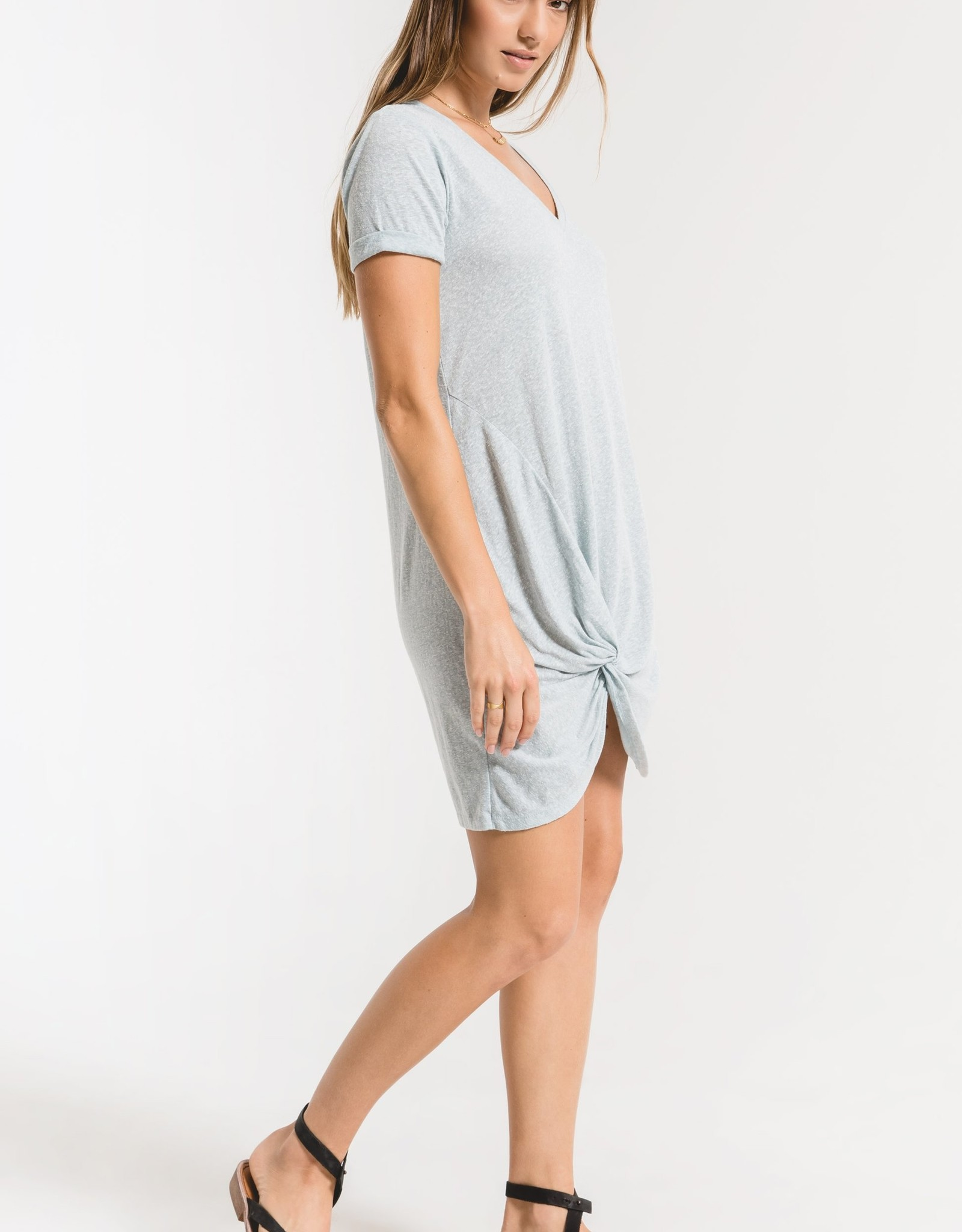 Triblend Side Knot Dress