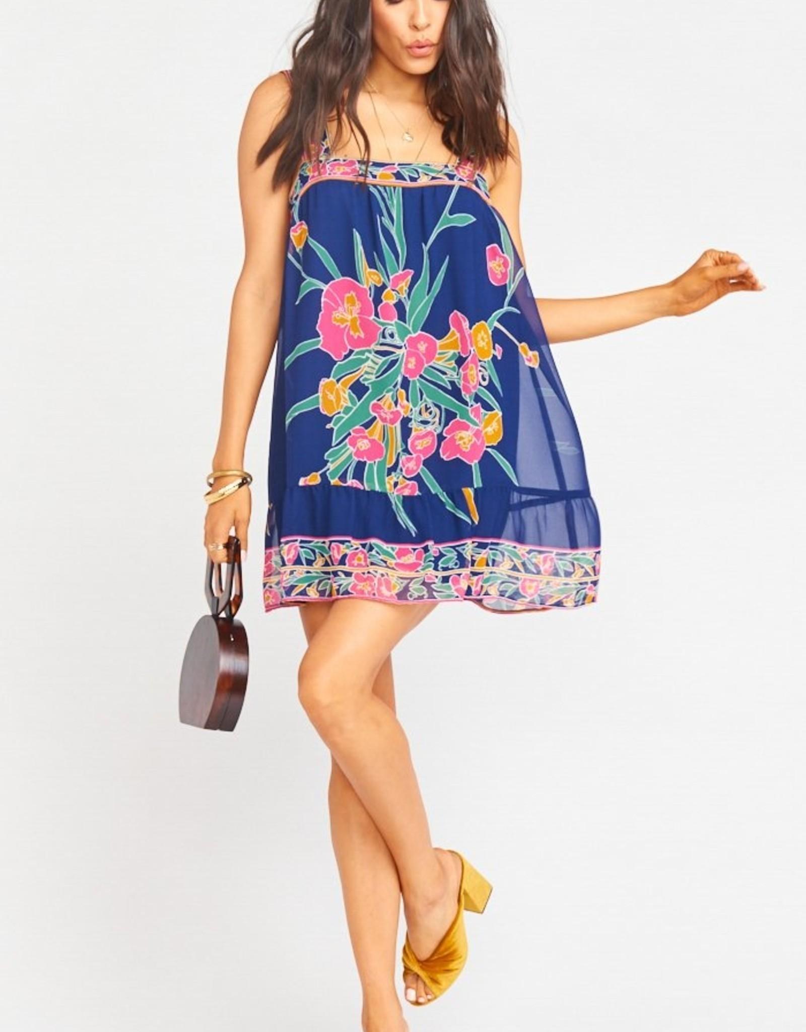 Show me your Mumu Goldie Sleeveless Bouquet  Dress