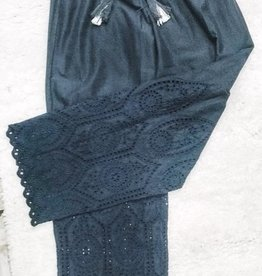 Madison Mathews Eyelet Pants