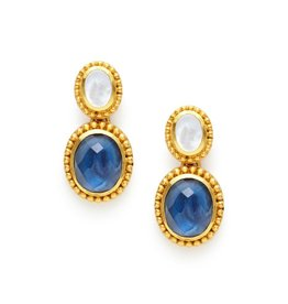 Siena Two Stone Earring