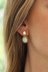 Siena Two Stone Earring
