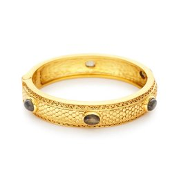 Medici 6 Stone Hinge Bangle Labordite