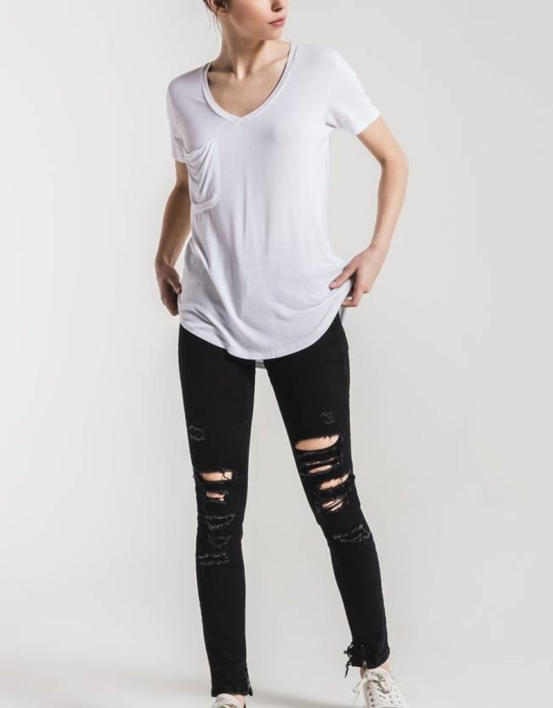 Sleek Jersey Pocket Tee***See More Colors***