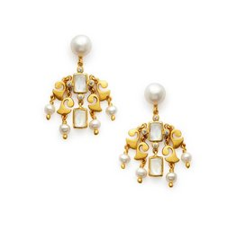 Clara Chandelier Clear Earring Crystal