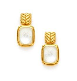 Monterey Earring Iridescent Crystal