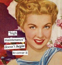 High Maintenance Napkin