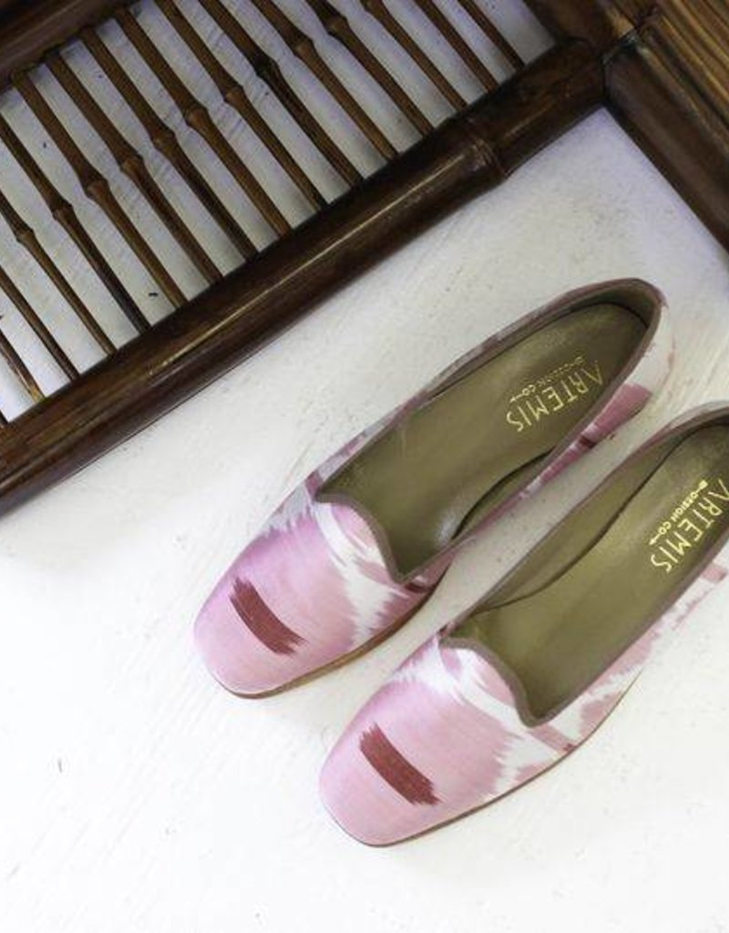 Edgie Silk Loafers