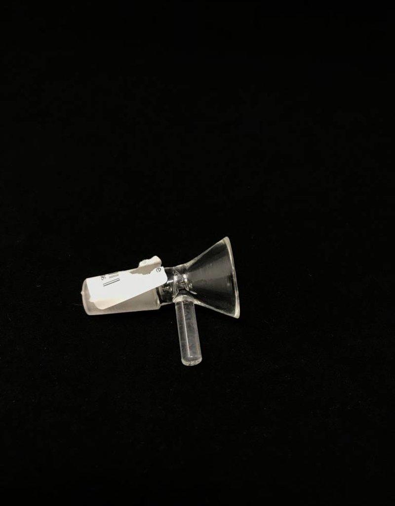 14mm Male Glass Slide w/ Handle
