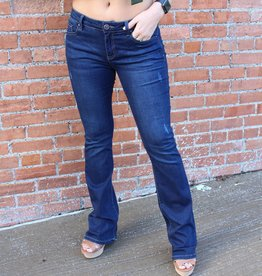 Denim Fuled Bootcut Dark Wash Jeans