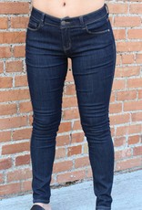 April Jeans Basic Dark Wash Skinny