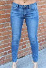 Just USA Mid Rise Skinny Jeans