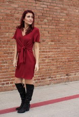 Everly Front Knot Shift Dress