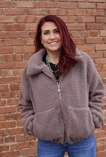 Papermoon Fleece Zip Up Jacket