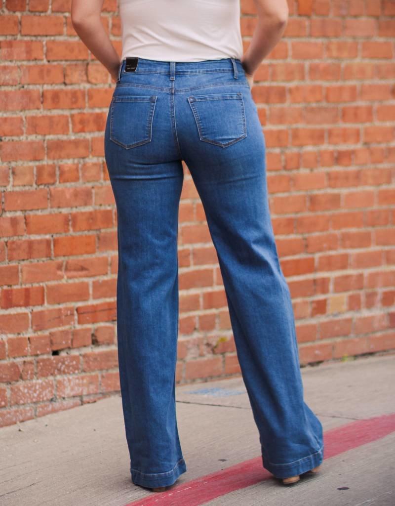 Wax Jean Wide Leg Jeans