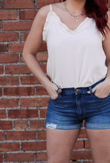 Just USA Double Cuffed High Rise Shorts