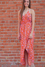 Everly Floral High-Low Maxi Dress